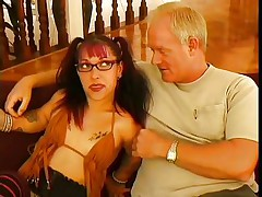 As they say big things come in small packages and this small woman is really packing a punch. She is just about to knock out this big guy with her charm, allure and her mouth. You can see that he is already moaning and she is hardly getting started with him, as she is giving an incredible blowjob.