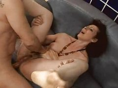sexy and hairy  mature fuck anal assfuck troia takes hard cock in the ass all the way whoppers