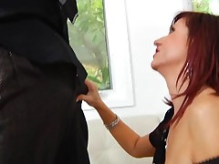 Hungry mature is desirous to receive mouth and whoppers fucked hard