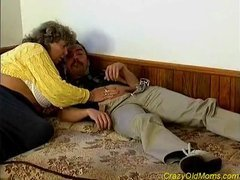 Crazy old mama drilled hard sex